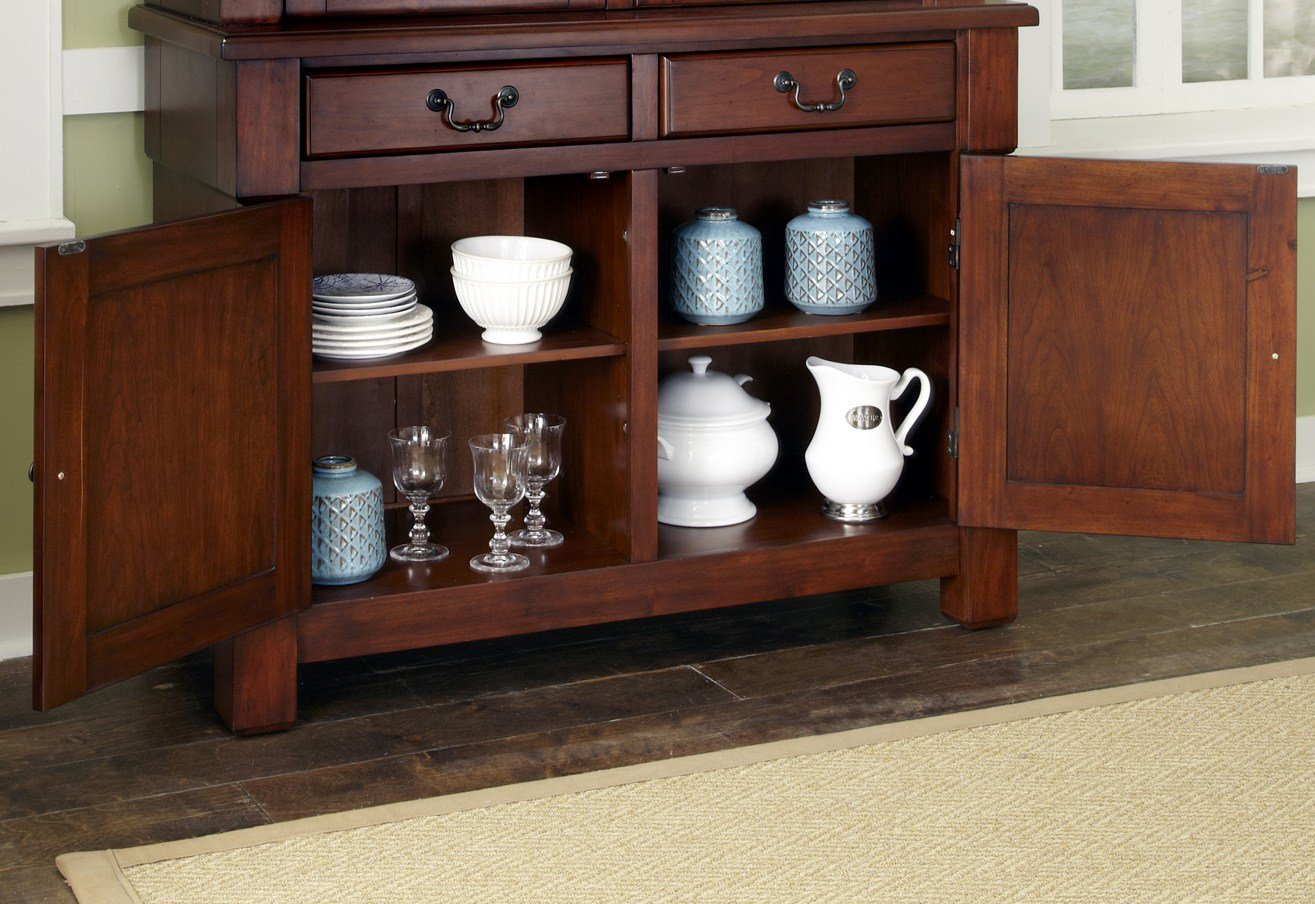 Home Styles 5520-61 The Aspen Collection Buffet Rustic Cherry