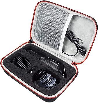 AONKE Duro Estuche Viajes Funda Bolso para Philips Barbero MG3730/15 MG5740/15 - Recortador de barba y precisión: Amazon.es: Salud y cuidado personal