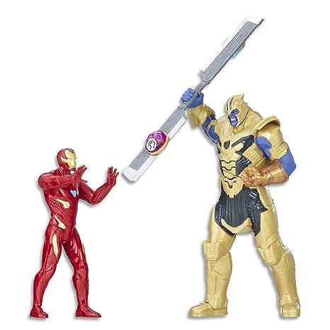 05dc660127 Marvel Avengers  Infinity War Iron Man vs. Thanos conjunto de batalla Figura  de acción