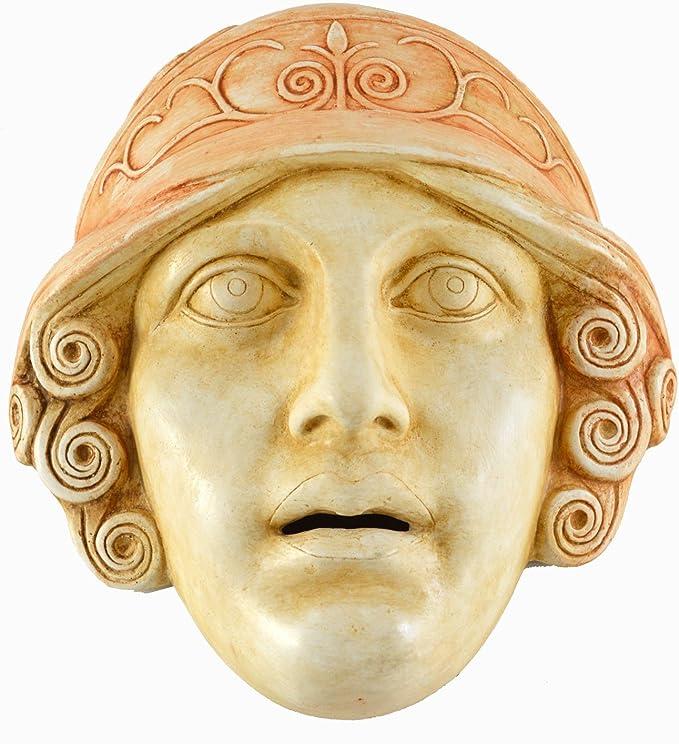 Diosa Athena máscara – Teatro griego de la Antigüedad – Pantalla ...