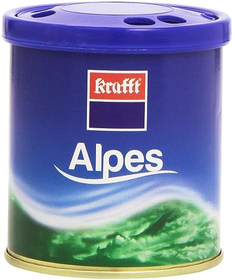 Amazon.es: Krafft 17392 Ambientador Lata de Alpes, Azul, 60 ml