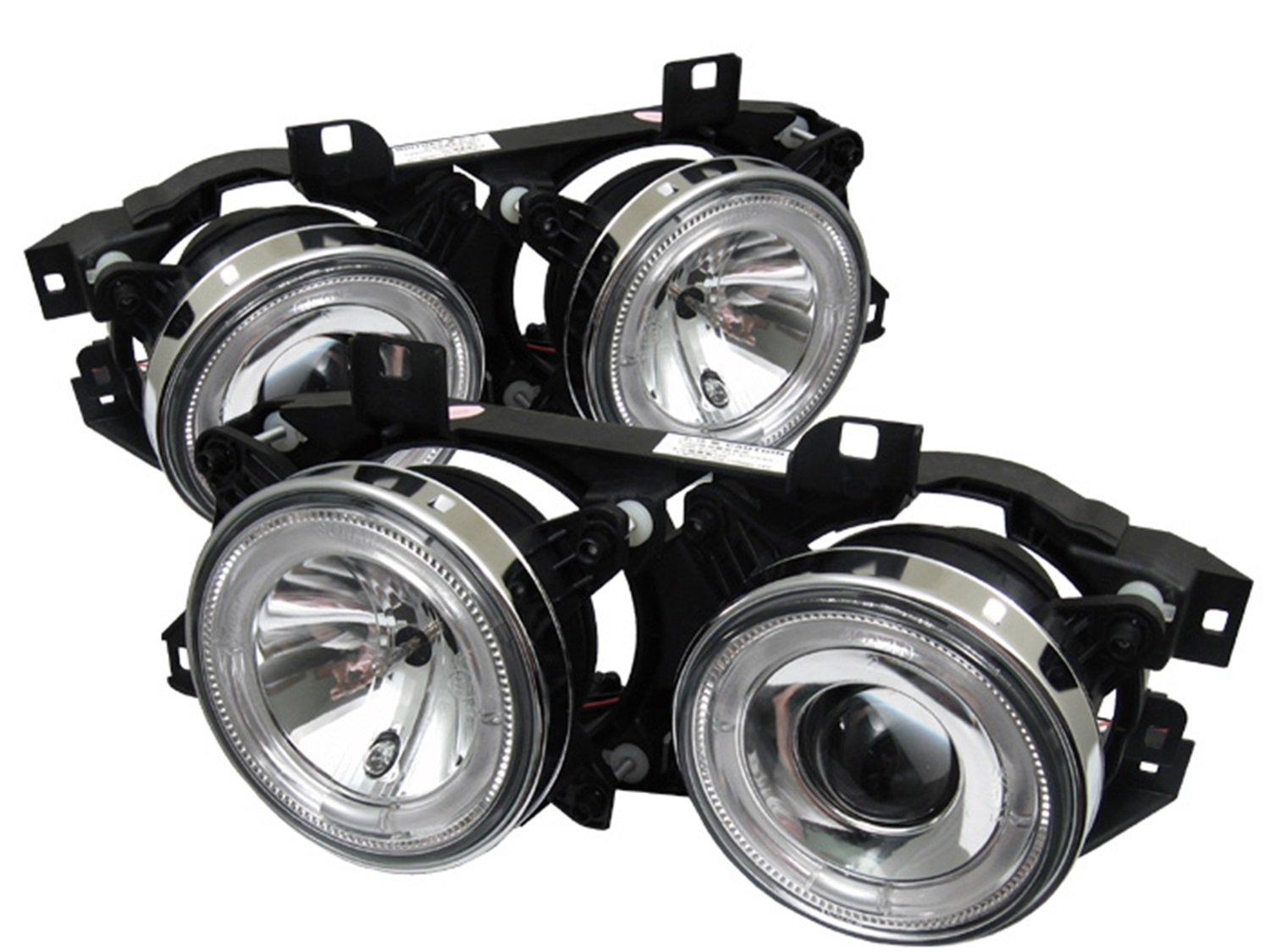 Spyder Auto Bmw E34 5 Series Chrome Projector Headlight E32 Automotive
