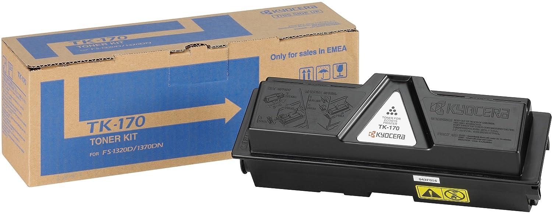 Kyocera TK-170 K Toner Black, Original Premium Printer