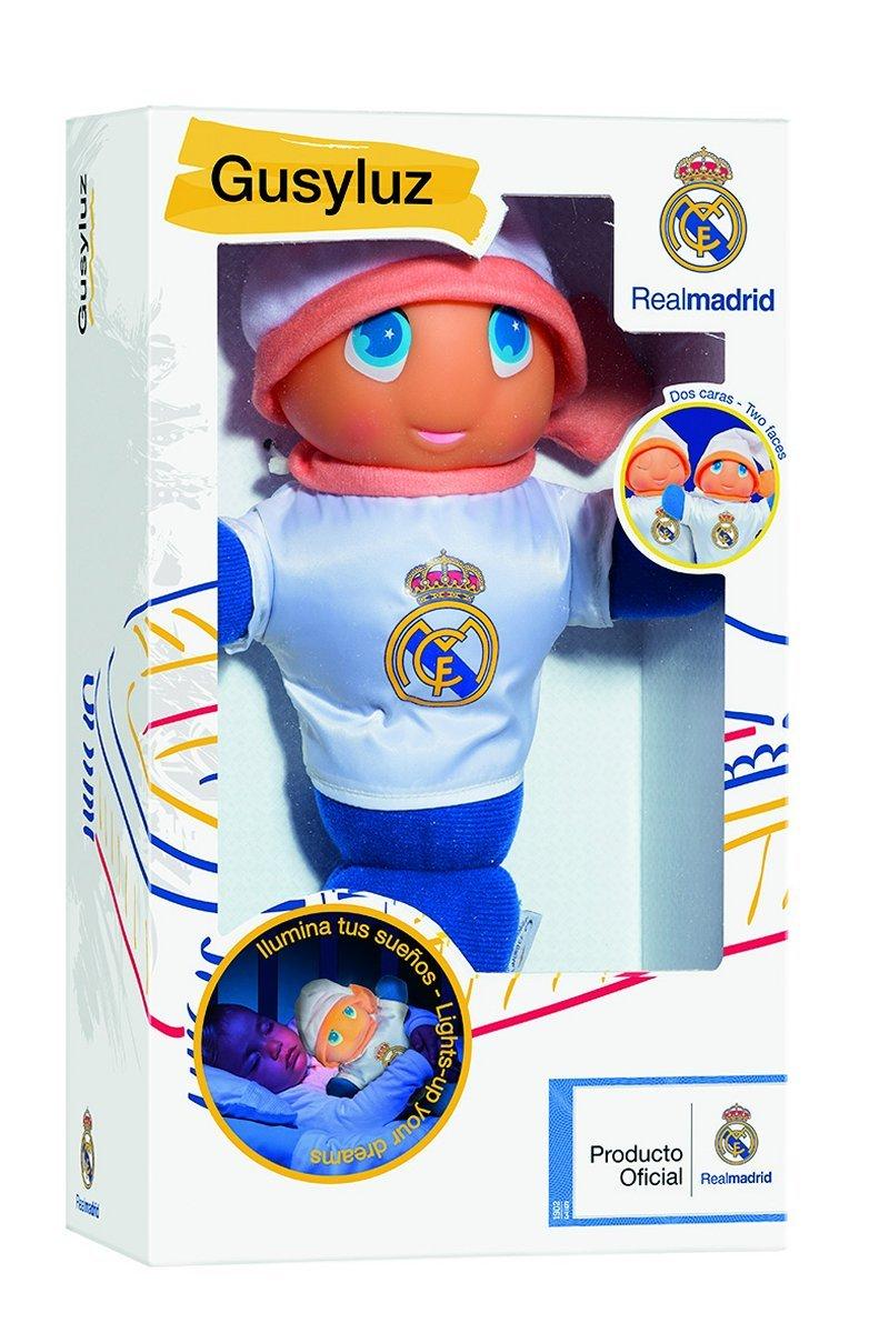 Real Madrid - Gusy luz, Dos Caras (MOLTO 16550): Amazon.es: Juguetes y juegos