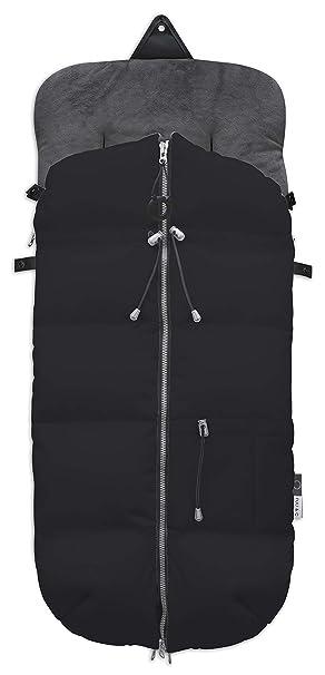 Fuli&co Plonge - Saco universal para silla de paseo, 93.5 x 45 x 5 cm, color negro