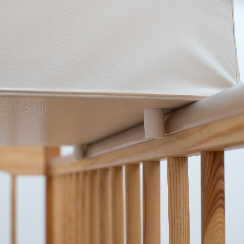 Baby Hard Base Changing MAT/TOP Changer 70x50cm FITS COT 120x60cm - Fox Baby Comfort