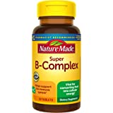 Nature Made Super B Complex with Vitamin C and Folic Acid, Dietary Supplement for Cellular Energy Support, 60 Tablets, 60 Day