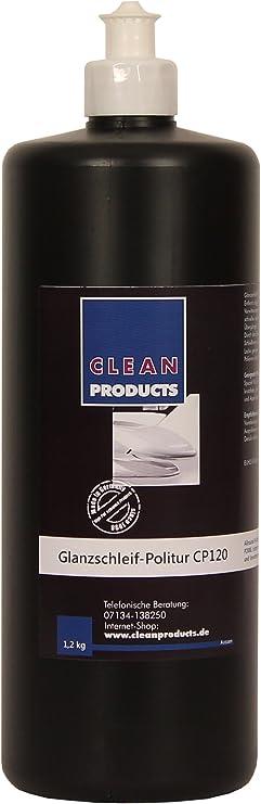 Cleanproducts Auto Politur Cp120 Medium Cut 1 2 Kg Autopolitur Zur Autoaufbereitung Fehlstellen Kratzern Verwitterungsspuren Entfernen Auto