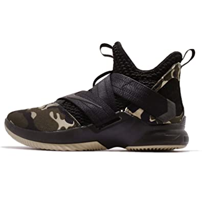 the latest 8225d d8f07 Nike Mens Lebron Soldier XII SFG EP, BlackBlack-Hazel Rush, 9.5 M US  Amazon.co.uk Shoes  Bags