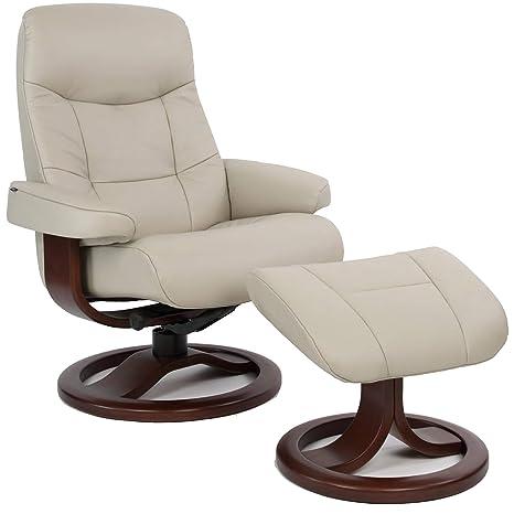 Strange Amazon Com Fjords Muldal Large Leather Ergonomic Recliner Pabps2019 Chair Design Images Pabps2019Com