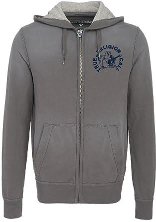 9d2f329b4272f True Religion Herren Hooded Zip Jacket Buddha Castlerock