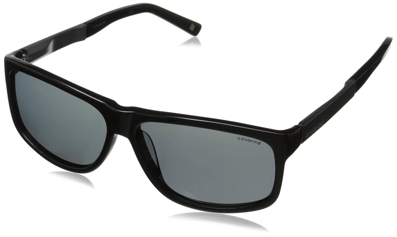 Polaroid P X8416 1T BC5 59, Gafas de Sol Unisex Adulto, Negro (Black Gunmetal/Grey Pz Ar): Amazon.es: Ropa y accesorios