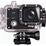 Gitup Git2 Waterproof Sports Action Camera Wifi Novatek 96660 2k 1080p 30fps Full Hd for Sony Imx206 16mp Sensor Support G-sensor with Keychain (With 38 in 1 Accessories)