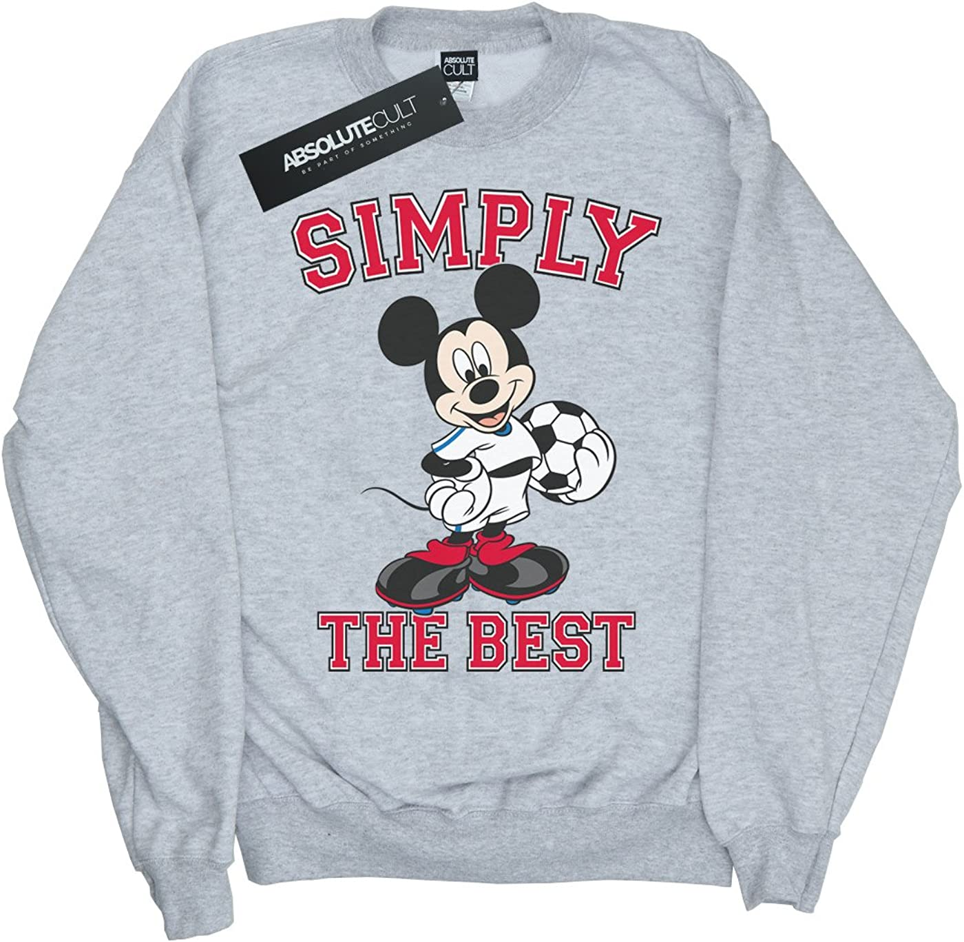 Disney Girls Mickey Mouse Simply The Best Sweatshirt