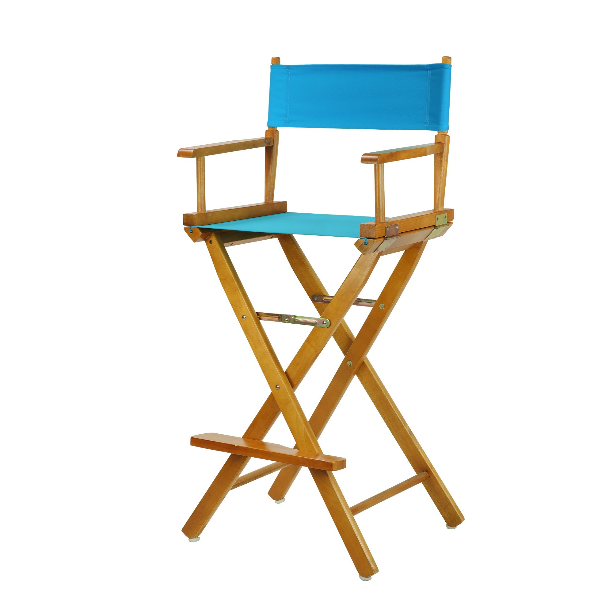 Casual Home 230-05/021-27 Director's Chair, 30''-Bar Height, Turquoise