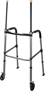 Drive Medical Lift Walker with Retractable Stand