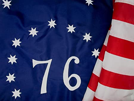 Durable All Weather Nylon Spirit of 76 Flag Beautiful Bennington Flag 3x5 ft