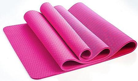 Estera De Yoga 8mm Colchoneta De Ejercicios De Pilates Mat ...