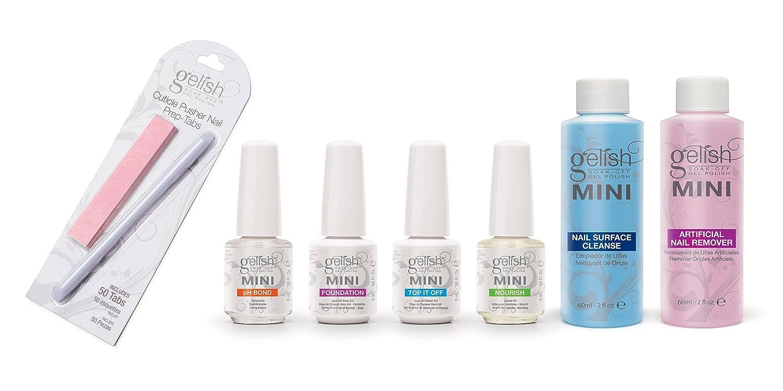 Amazon.com : Gelish: Color Gels Mini Basix Kit : Beauty Products ...