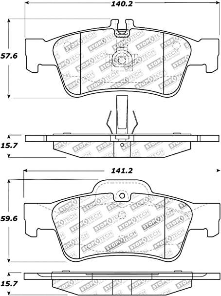 StopTech 309.11860 Sport Brake Pad 5 Pack