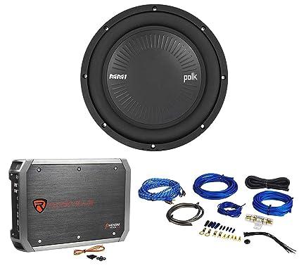 amazon com polk audio mm1042svc 10 1200 watt svc car audio polk audio subwoofer amplifier polk audio mm1042svc 10 1200 watt svc car audio subwoofer amplifier amp kit