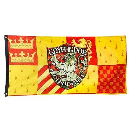 Harry Potter Gryffindor House Quidditch Banner   Gryffindor