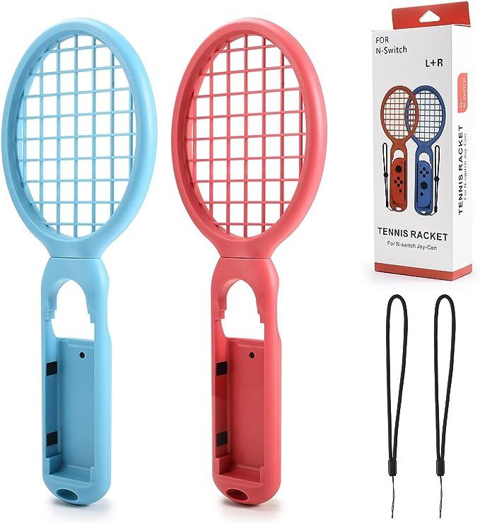 Kiwitatá - 1 par de Raquetas de Tenis compatibles con Nintendo ...