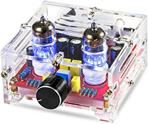 HiFi Vacuum Tube Preamp Stereo Mini Class A Audio Preamplifier for Power Amp