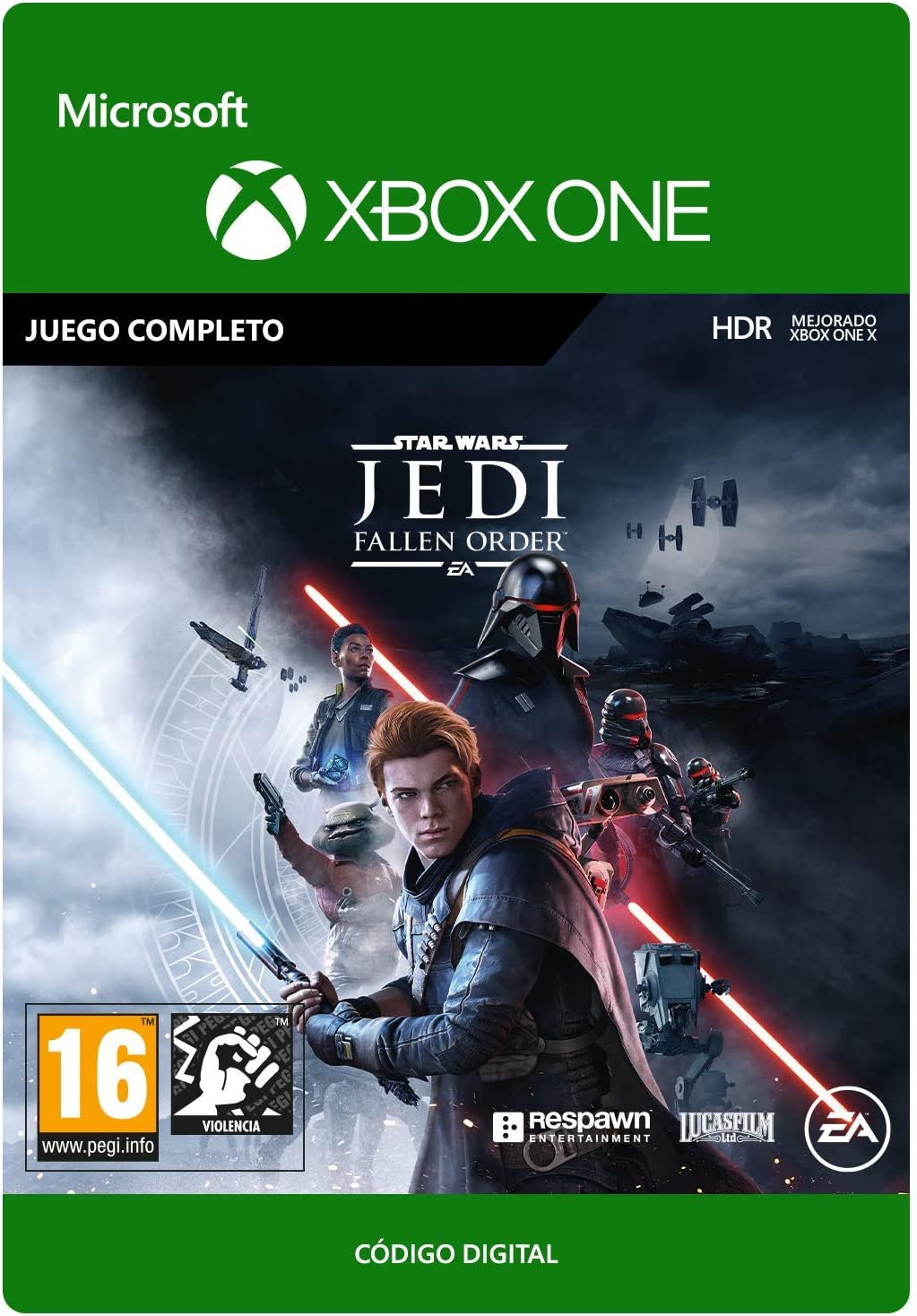 STAR WARS Jedi Fallen Order| Xbox One - Código de descarga: Amazon ...