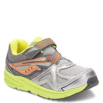 aa6fdbd477 Saucony Boys' Baby Ride Sneaker (Toddler/Little Kid)