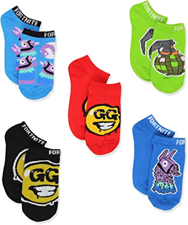 Fortnite Boys 11 Pairs Low Cut Socks