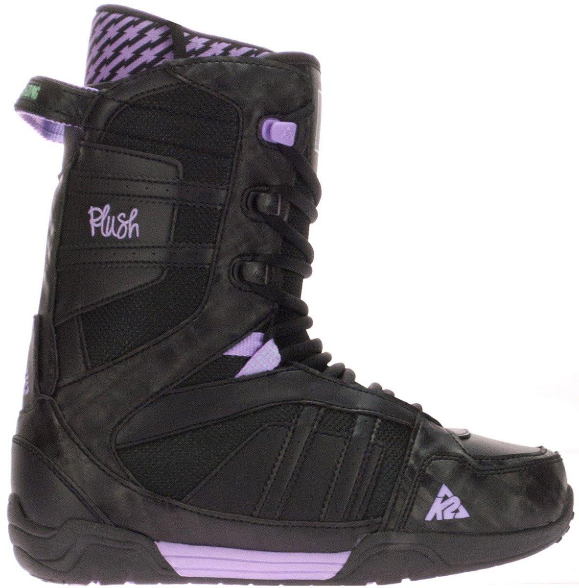 K2 Plush Snowboard Boot 2012, Black, 5