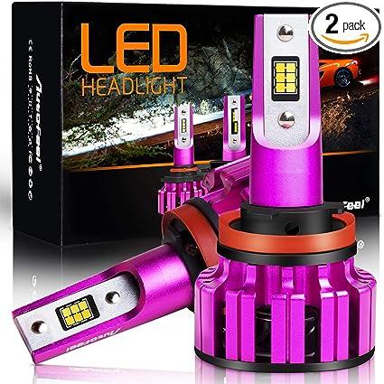 H11 CREE 1200W 180000LM LED Headlight Bulbs Low Beam Halogen Autofeel Plug Play