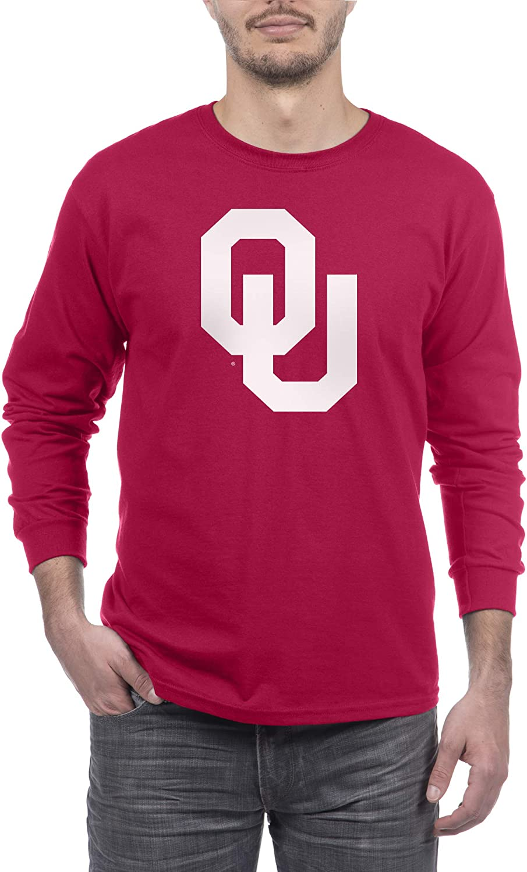 Elite Fan Shop NCAA Long Sleeve Shirt Team Color Icon Touchdown