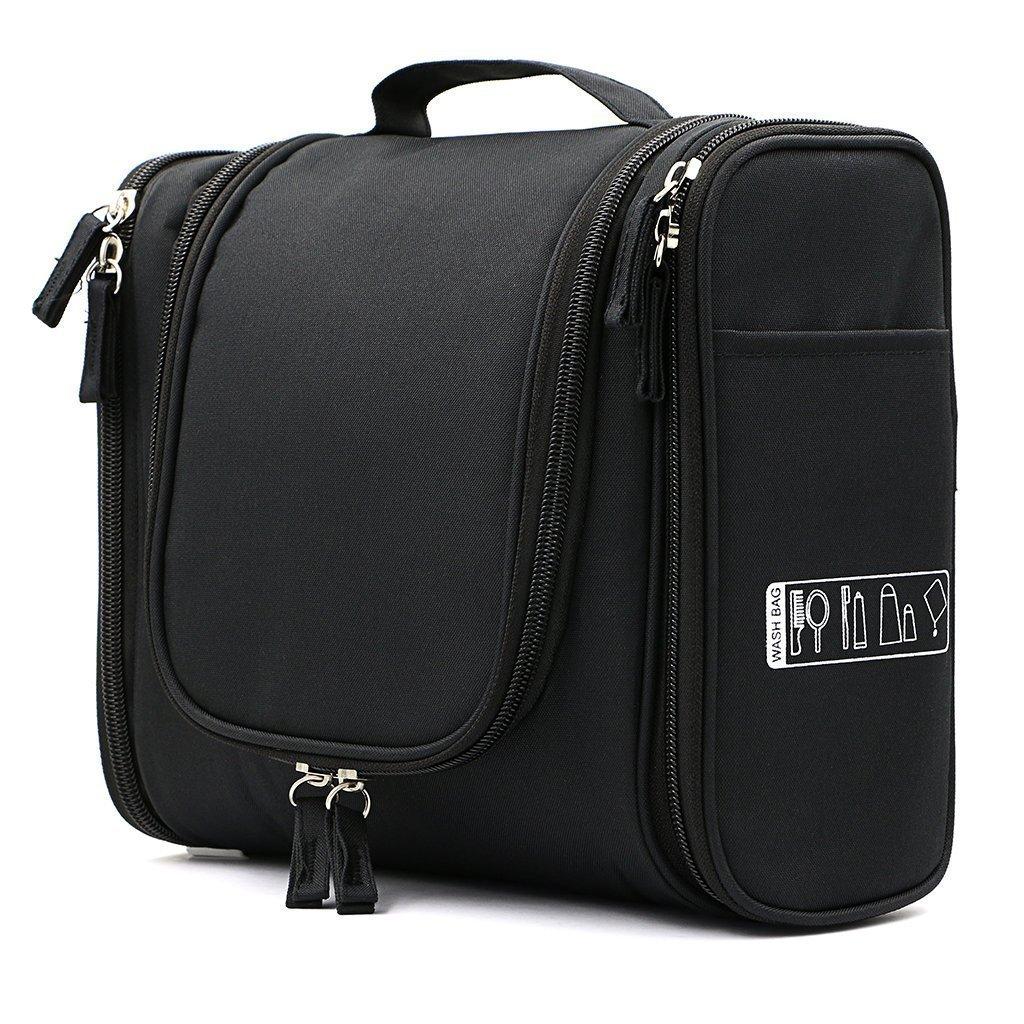 BlueBeach® Travel Toiletry Bag / Portable Makeup Organiser / Hanging Bathroom Cosmetic Grooming Case travel-bag-1