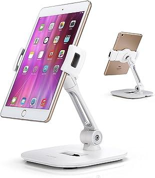 AboveTEK Elegante soporte de aluminio para tableta, soporte para ...