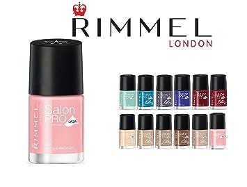 Rimmel London Brit Manicure Nail Varnish 445 English Rose - Beauty Pouch