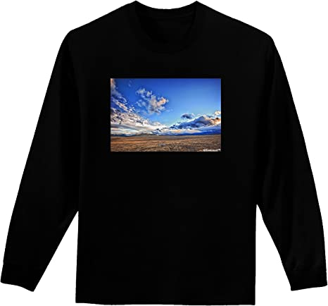 TooLoud Electric Sky Color Infant T-Shirt Dark