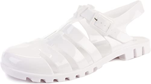 Retro Jelly Sandals Shoes Size