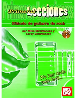 First Lessons Rock Guitar (Spanish Edition)