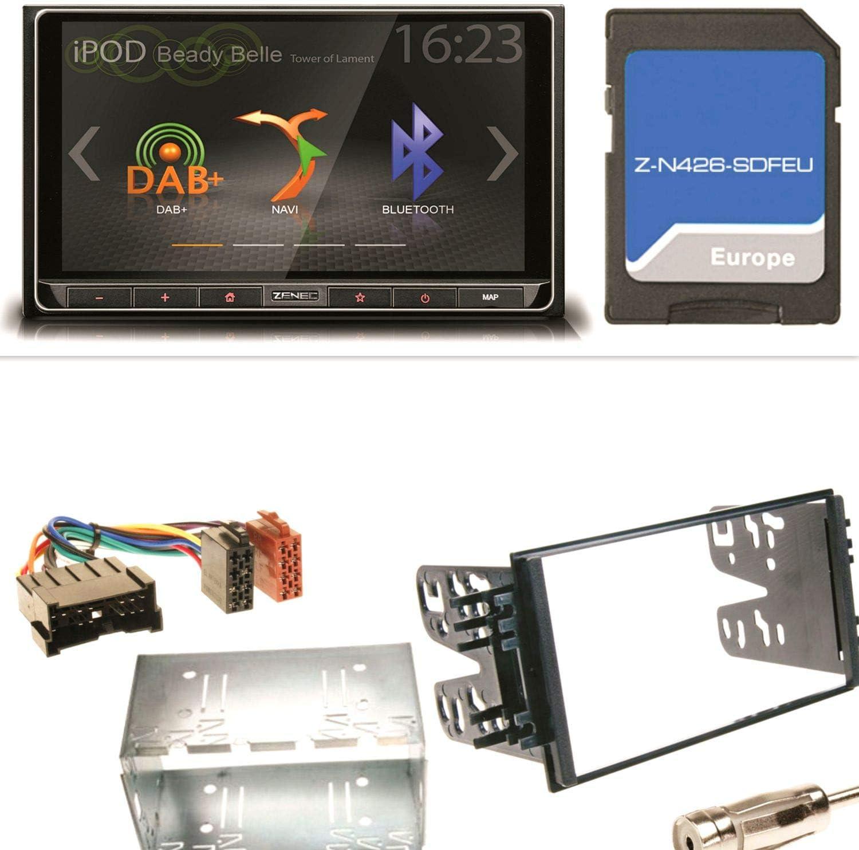 Zenec de N426 Bluetooth USB MP3 DAB + Radio de coche ...