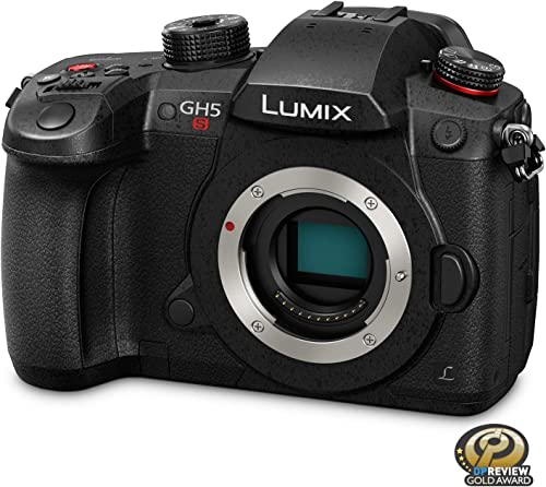 PANASONIC LUMIX GH5S Body 4K Digital Camera, 10.2 Megapixel Mirrorless Camera with High-Sensitivity MOS Sensor