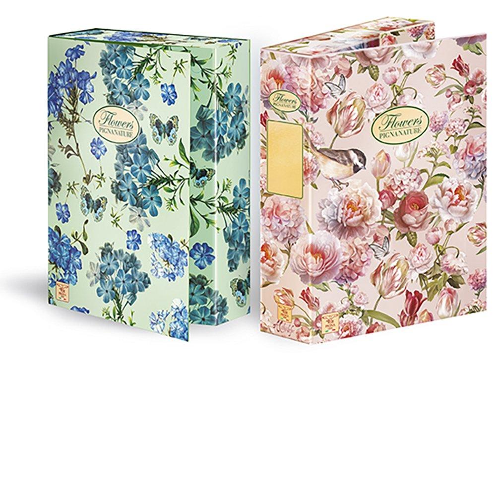 Pigna Nature Flowers Portaprogetti D7 scatola 3 pz. Cartiere Paolo Pigna S.p.A. 0089255D7
