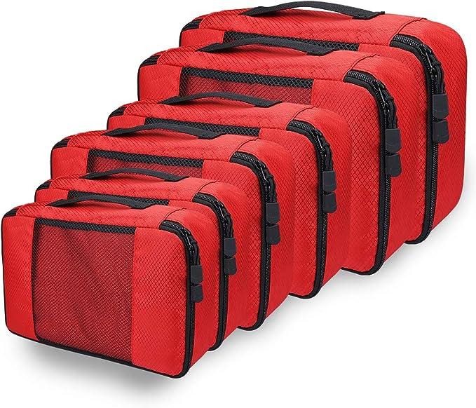 33 opinioni per Organizer Valigia Set di 6 per Valigie, Viaggio Travel Organizer Bag Cubi da