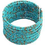 Susenstone®Women Bohemian Beads Beaded Bracelet, Chain Open Design