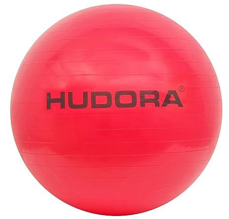 Hudora - Pelota de Gimnasia (65 cm), Color Rojo: Amazon.es ...