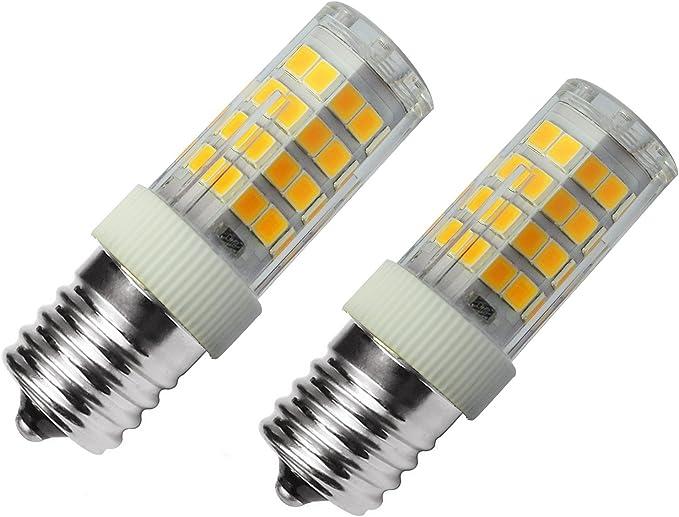 Amazon.com: Bombilla LED E17 de 4 W equivalente a bombilla ...