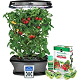 Great new LED Technology Miracle-Gro AeroGarden ULTRA LED with Gourmet Herb Seed Kit and Fresh & Tasty Tomato Seed Pod Kit