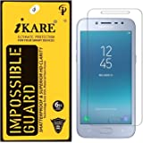 Sajni Creations Ikare Impossible Samsung J2 2018 Tempered Screen Guard , Strong Plastic Fibre Unbreakable Flexible impossible Tempered Screen Guard Protector for Samsung Galaxy J2 2018 - Transparent (does not cover the edges)