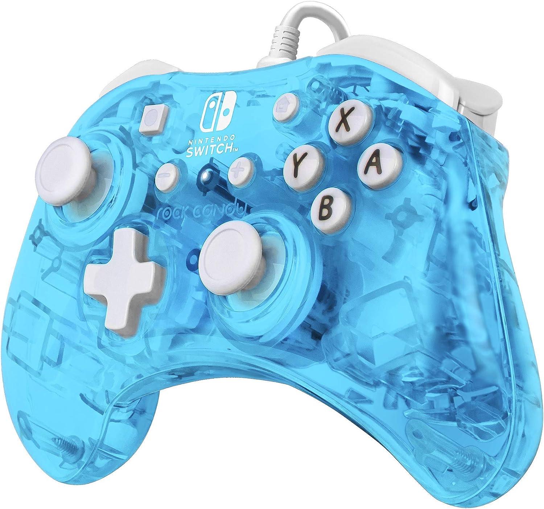 PDP - Mando Mini Con Cable Rock Candy Azul Glow (Nintendo Switch): Amazon.es: Videojuegos